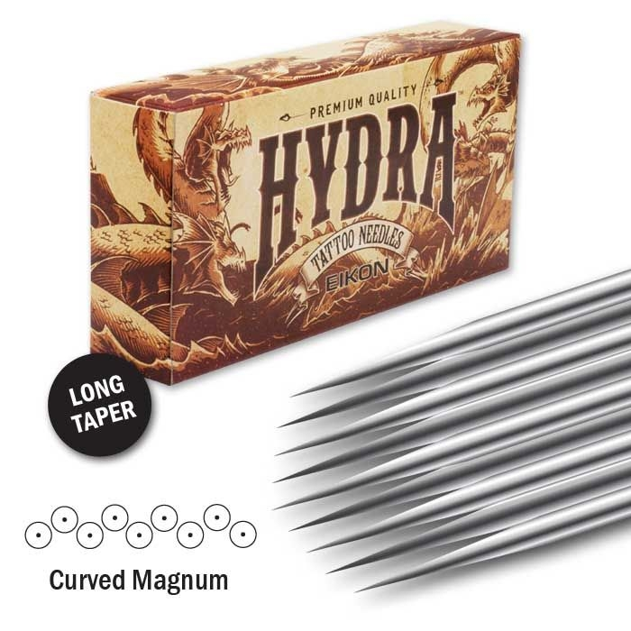 Hydra Needles Curved Magnum