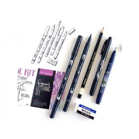 Beginner Lettering Set per Calligrafia - Tombow Dual Brush