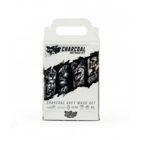 World Famous Ink Charcoal Graywash set 3x120ml