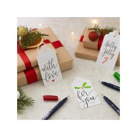 Set Christmas Tags Tombow