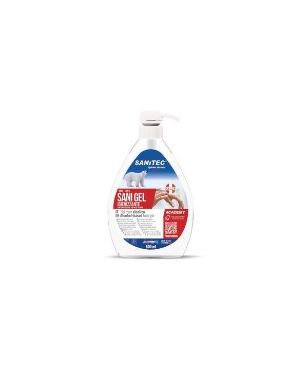 Igienizzante mani in gel SANITEC 600 ml