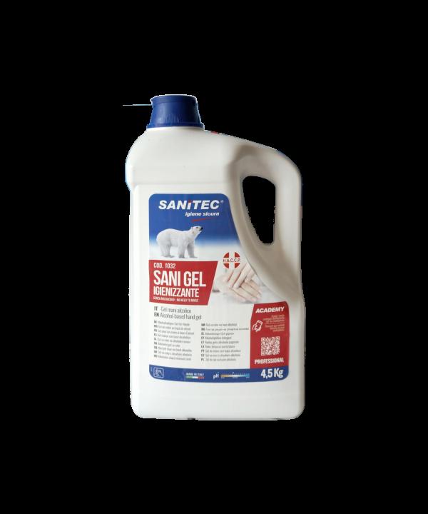 Sapone Gel Igienizzante mani Sanitec 4.5 L