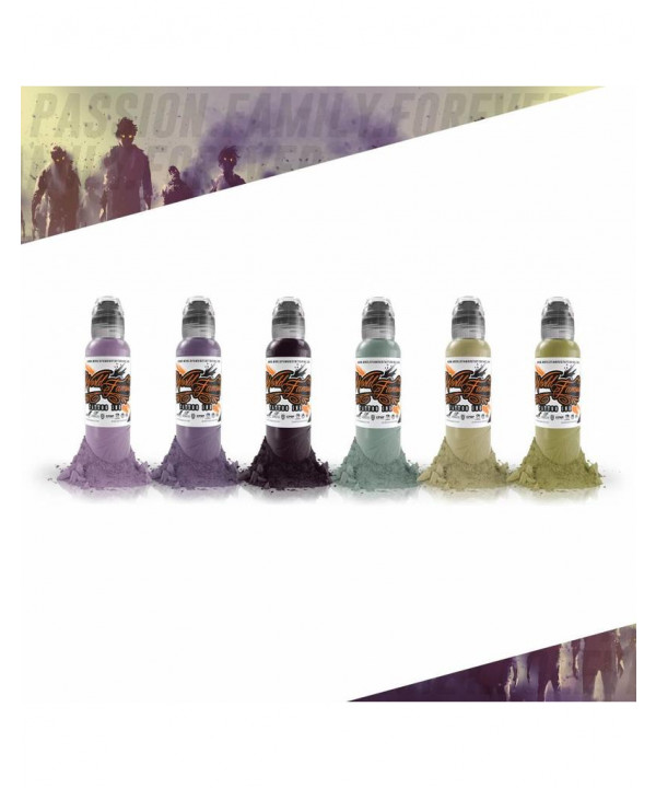 Maks Kornev Zombie Six Color Set 6x30ml