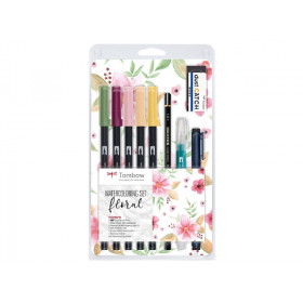 Floral Set - Tombow Dual Brush