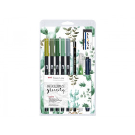 Greenery Set - Tombow Dual Brush