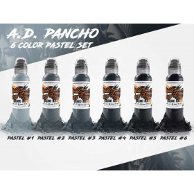 A.D. Pancho Pastel Grey Set 6x30ml