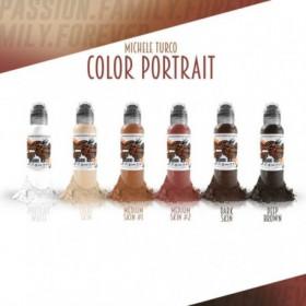 Michele Turco's Color Portrait Set 6x30ml