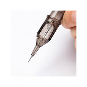 EZ Revolution Cartridge 20pcs - 1 micro liner 0,30mm Pure Round Tip, cartucce ez, pure round tip, ez  revolution, ez cartridges
