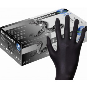 Guanto Lattice BLACK MAMBA 100 pezzi