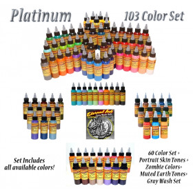 Eternal ink-Full set 1 oz/30ml Platinum 103 colori