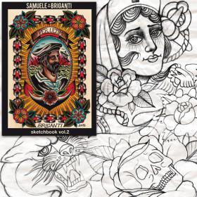 Samuele Briganti Sketckbook volume 3