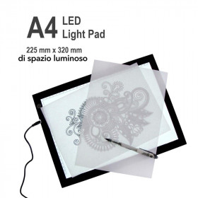 Lavagnetta Luminosa touch screen  LED A4