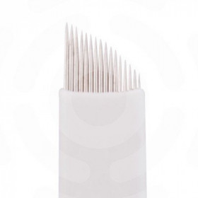 Microblading - Ago 16 punte Slope,confezione 50 pezzi