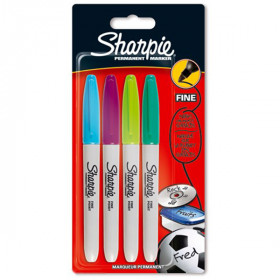 Pennarello Sharpie 4 pack multi color