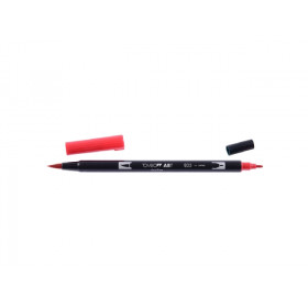 835 Persimmon - Tombow Dual Brush Pen