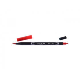 847 Crimson - Tombow Dual Brush Pen