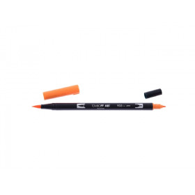 933 Orange - Tombow Dual Brush Pen
