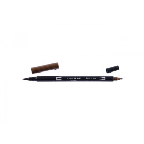 969 Burnt Chocolate - Tombow Dual Brush Pen