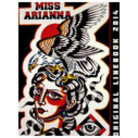 Miss Arianna Sketchbook 2014