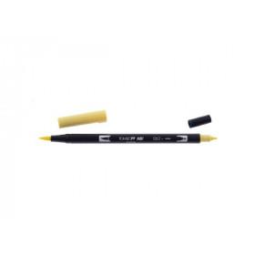 062 Pale Yellow - Tombow Dual Brush Pen