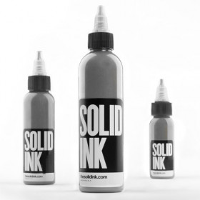 Solid Ink- Silver