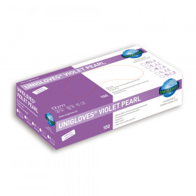 Guanti Nitrile Unigloves Violet Pearl 100pz