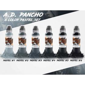 A.D. Pancho Pastel Grey Set 6x30ml