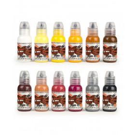World Famous Ink Debora Cherrys Musas Set 12x30ml
