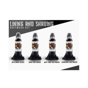 Lining & Shading Four Color Set 4x30ml