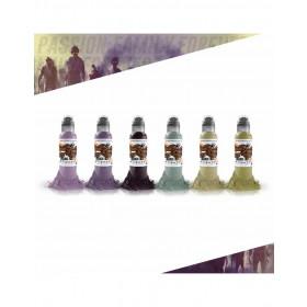 Maks Kornev Zombie Six Color Set 6x30ml