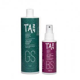 TA24 Green Soap  1L + Balancing spray 250ml