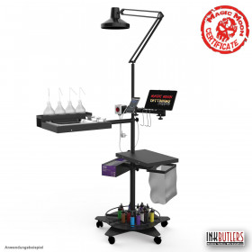 Mobile tattoo Workstation
