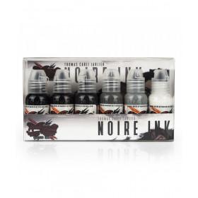 World Famous Ink Noir Thomas Carli Jarlier Set 6x30ml