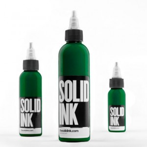 Solid Ink- Dark Green
