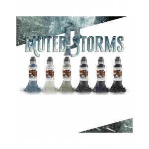 Poch's Muted Storm Color Set 6x30ml